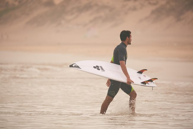 RAMZI BOUKHIAM, THE SURFER FROM CASABLANCA