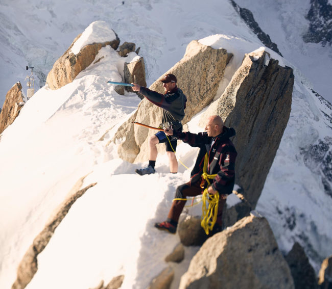 Family story/ Mountain guides in Chamonix